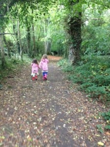 Lucy and Ann in Charleville