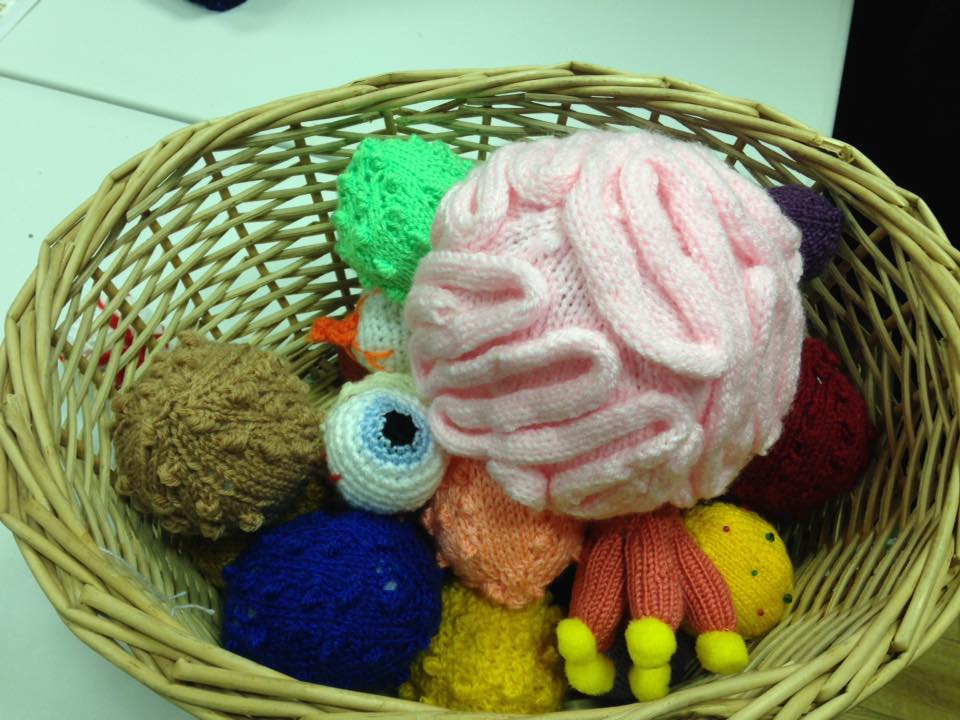Viruses, Cures And Body Parts Knitting!!